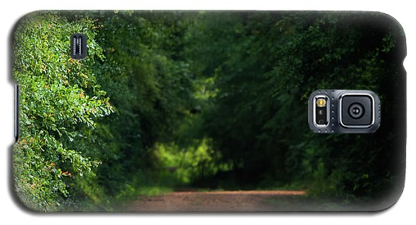 Galaxy S5 Case featuring the photograph Old Dirt Road by Shelby Young