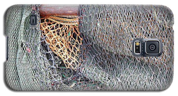 Old Discarded Fishing Nets Galaxy S5 Case by Yali Shi