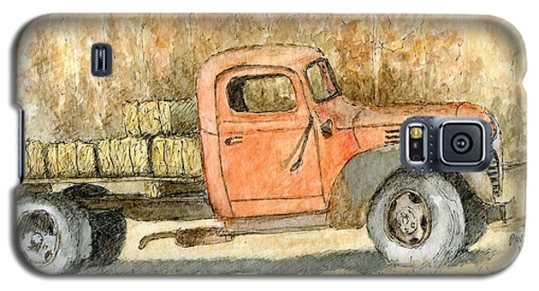Old Dodge Truck In Autumn Galaxy S5 Case