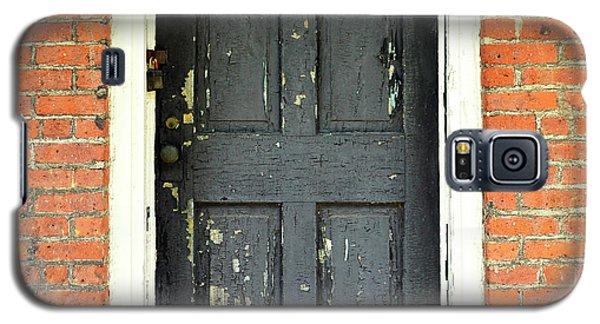 Galaxy S5 Case featuring the photograph Old Door by Zawhaus Photography