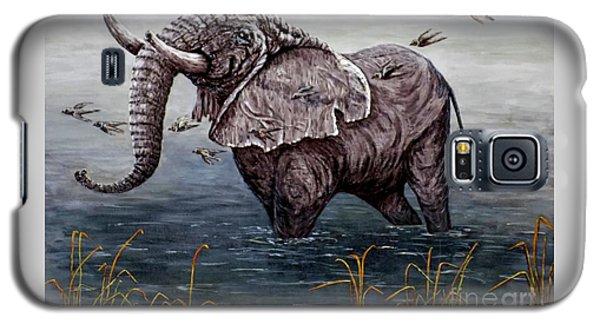 Old Elephant Galaxy S5 Case