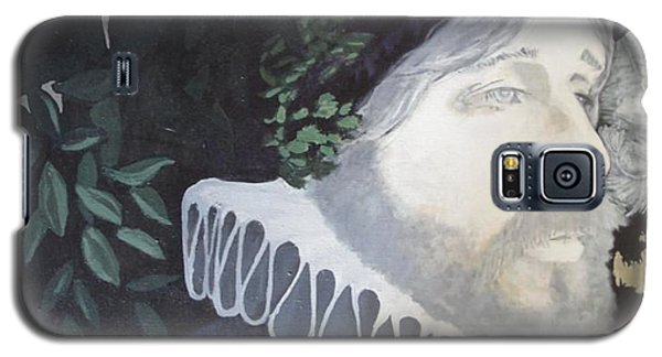 Galaxy S5 Case featuring the painting Old Englishman by Bernard Goodman