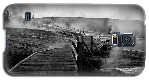 Old Faithful Boardwalk Galaxy S5 Case