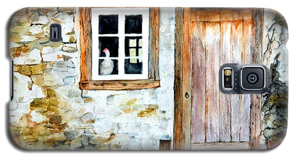 Old Farm House Galaxy S5 Case by Sher Nasser