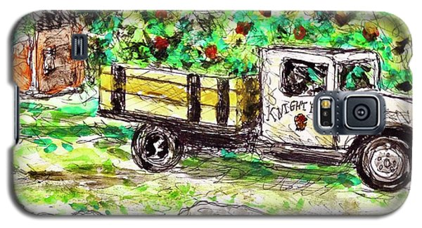 Old Farming Truck Galaxy S5 Case