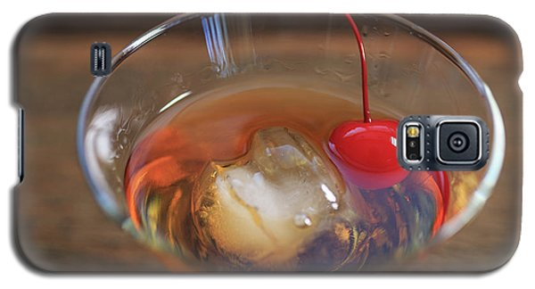Galaxy S5 Case featuring the photograph Old Fashioned Cocktail by Edward Fielding