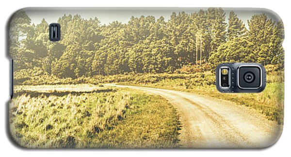 Old-fashioned Country Lane Galaxy S5 Case