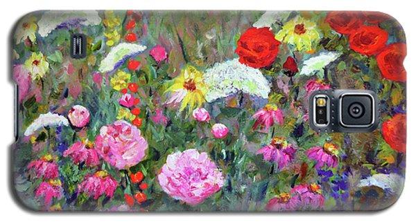 Old Fashioned Garden Galaxy S5 Case