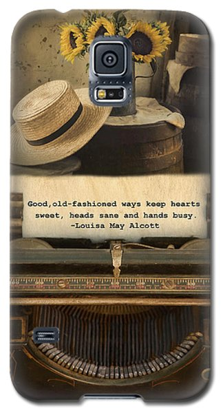 Galaxy S5 Case featuring the photograph Old Fashioned Morals by Robin-Lee Vieira