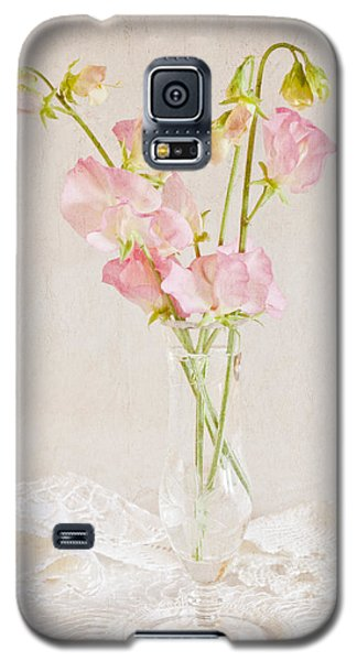 Old Fashioned Sweet Peas Galaxy S5 Case