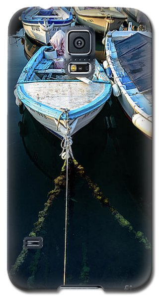 Old Fishing Boats Of The Adriatic Galaxy S5 Case