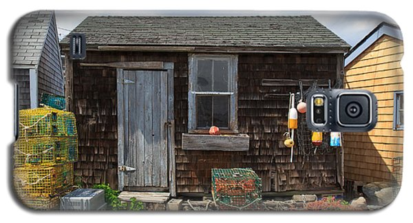 Old Fishing  Houses  Galaxy S5 Case
