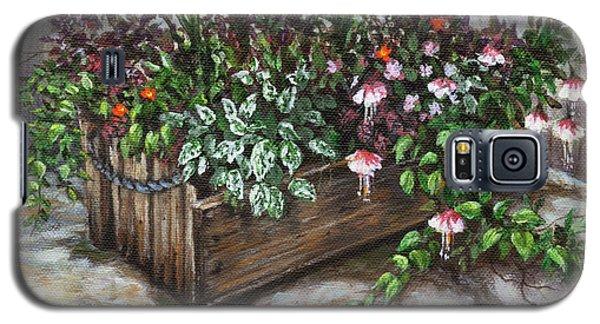 Old Flower Box Galaxy S5 Case