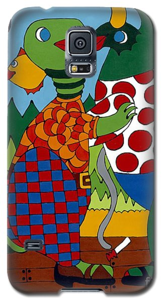 Old Folks Dancing Galaxy S5 Case
