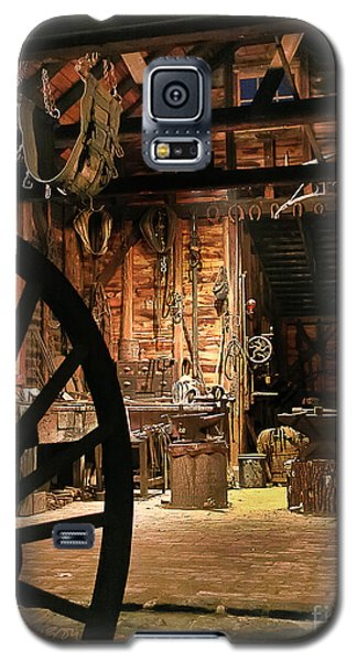 Galaxy S5 Case featuring the photograph Old Forge by Tom Cameron