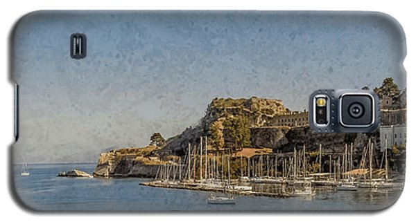 Galaxy S5 Case featuring the photograph Corfu, Greece - Old Fortress North by Mark Forte