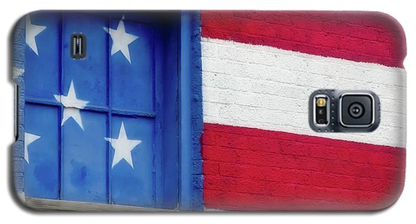 Old Glory, American Flag Mural, Street Art Galaxy S5 Case