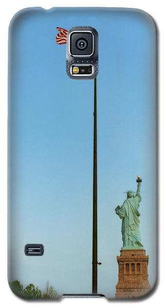 Old Glory And Lady Liberty Galaxy S5 Case