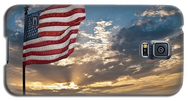 Galaxy S5 Case featuring the photograph Old Glory by John Collins