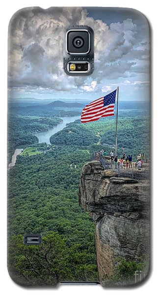 Old Glory On The Rock Galaxy S5 Case