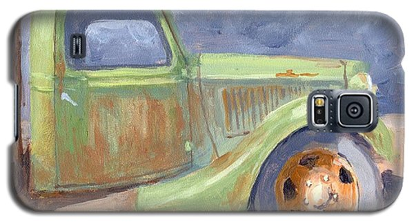 Old Green Ford Galaxy S5 Case