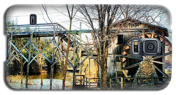 Galaxy S5 Case featuring the photograph Old Gristmill by Rick Friedle
