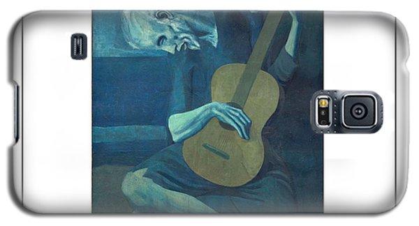 Old Guitarist Galaxy S5 Case