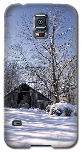 Old Hay Barn Boxley Valley Galaxy S5 Case