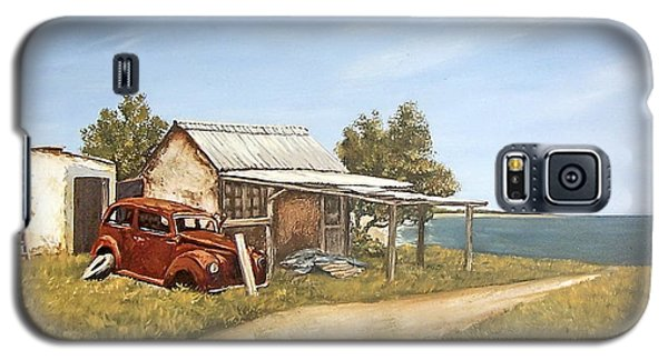 Old House By The Sea Galaxy S5 Case by Natalia Tejera