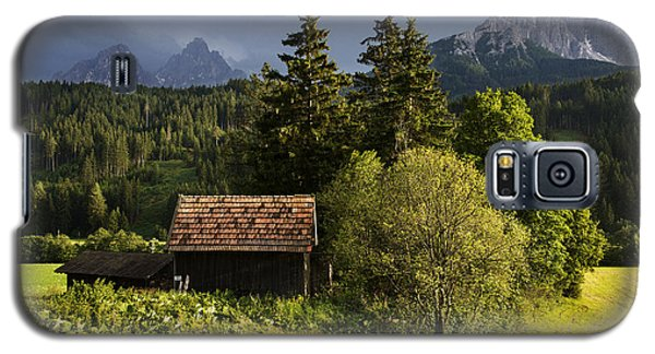 Galaxy S5 Case featuring the photograph Old Hut In Austria by Yuri Santin