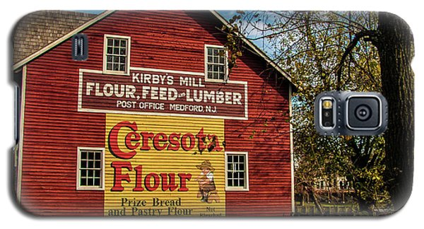 Old Kirby's Flower Mill Galaxy S5 Case