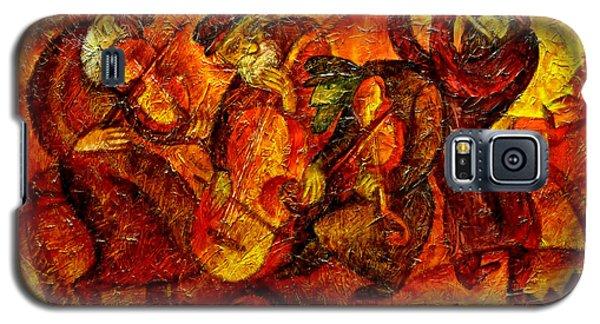 Old Klezmer Band Galaxy S5 Case by Leon Zernitsky
