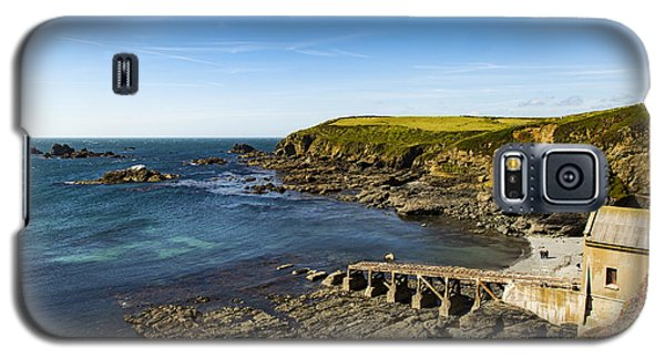 Galaxy S5 Case featuring the photograph Old Life Boat Station by Brian Roscorla