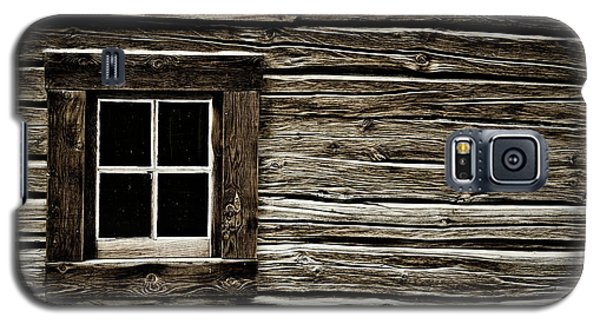 Galaxy S5 Case featuring the photograph Old Log Cabin by Brad Allen Fine Art