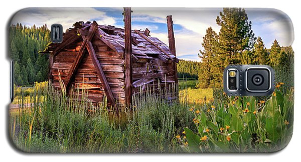 Old Lumber Mill Cabin Galaxy S5 Case