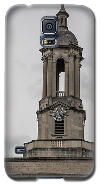 Old Main From Front Clock Galaxy S5 Case by John McGraw