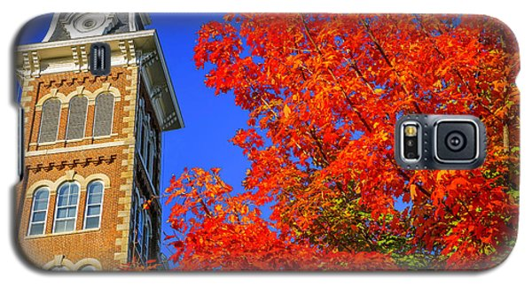 Old Main Maple Galaxy S5 Case by Damon Shaw