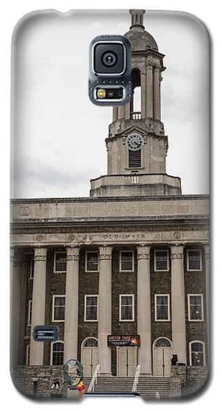 Old Main Penn State From Front  Galaxy S5 Case by John McGraw