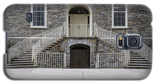 Old Main Penn State Stairs  Galaxy S5 Case by John McGraw
