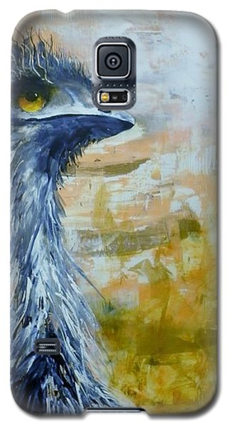 Galaxy S5 Case featuring the painting Old Man Emu by Lyn Olsen