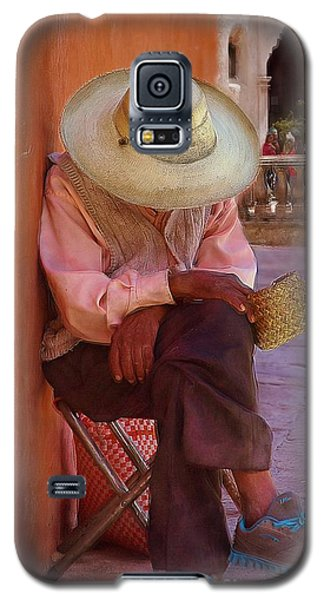 Old Man In Atottonilco Galaxy S5 Case