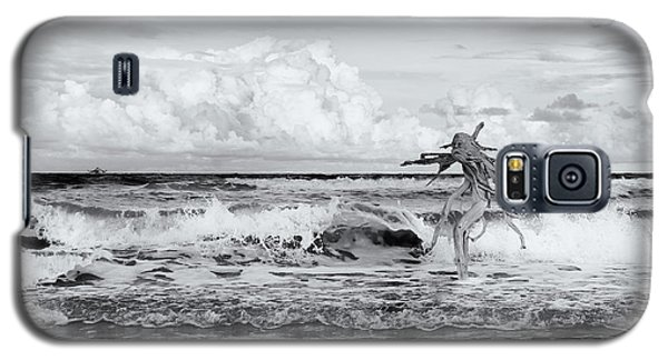 Galaxy S5 Case featuring the photograph Old Man In The Sea by Carolyn Dalessandro