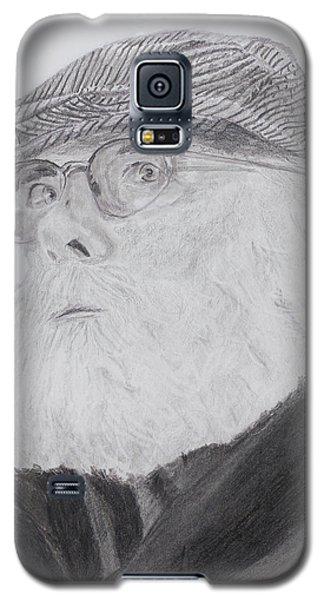 Old Man With Beard Galaxy S5 Case by Quwatha Valentine