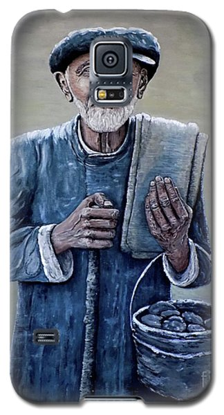 Old Man With His Stones Galaxy S5 Case