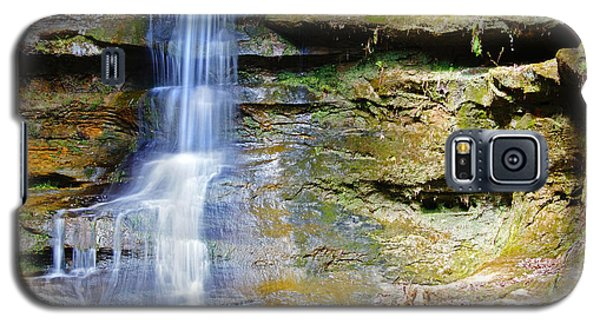 Old Man's Cave Waterfall Galaxy S5 Case