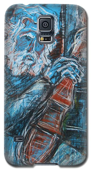 Old Man's Violin Galaxy S5 Case