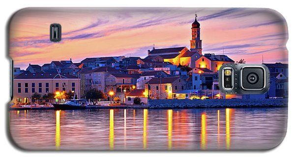 Old Mediterranean Town Of Betina Sunset View Galaxy S5 Case by Brch Photography