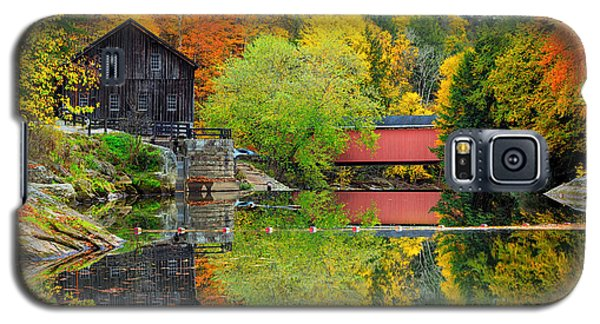 Old Mill In The Fall  Galaxy S5 Case