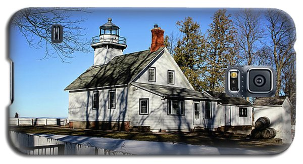 Old Mission Lighthouse Galaxy S5 Case