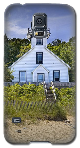 Old Mission Point Lighthouse In Grand Traverse Bay Michigan Number 2 Galaxy S5 Case